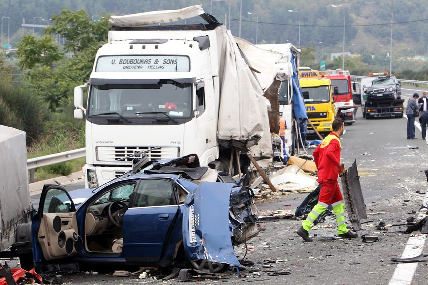 Truck accident fatality